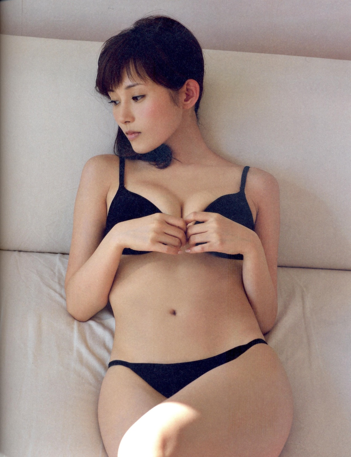 Natsumi Abe is Stunning in Her Photo book Fin No Hito