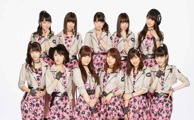 morning musume 17 band photo