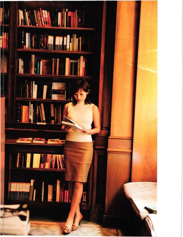 natsumi-abe-in library