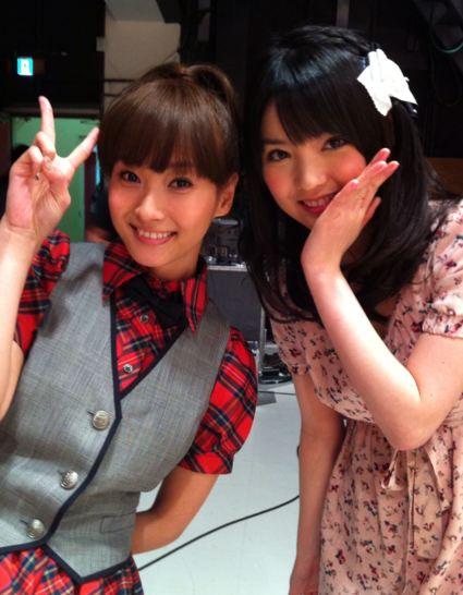 sayumi michishige guest appearance miki fujimoto