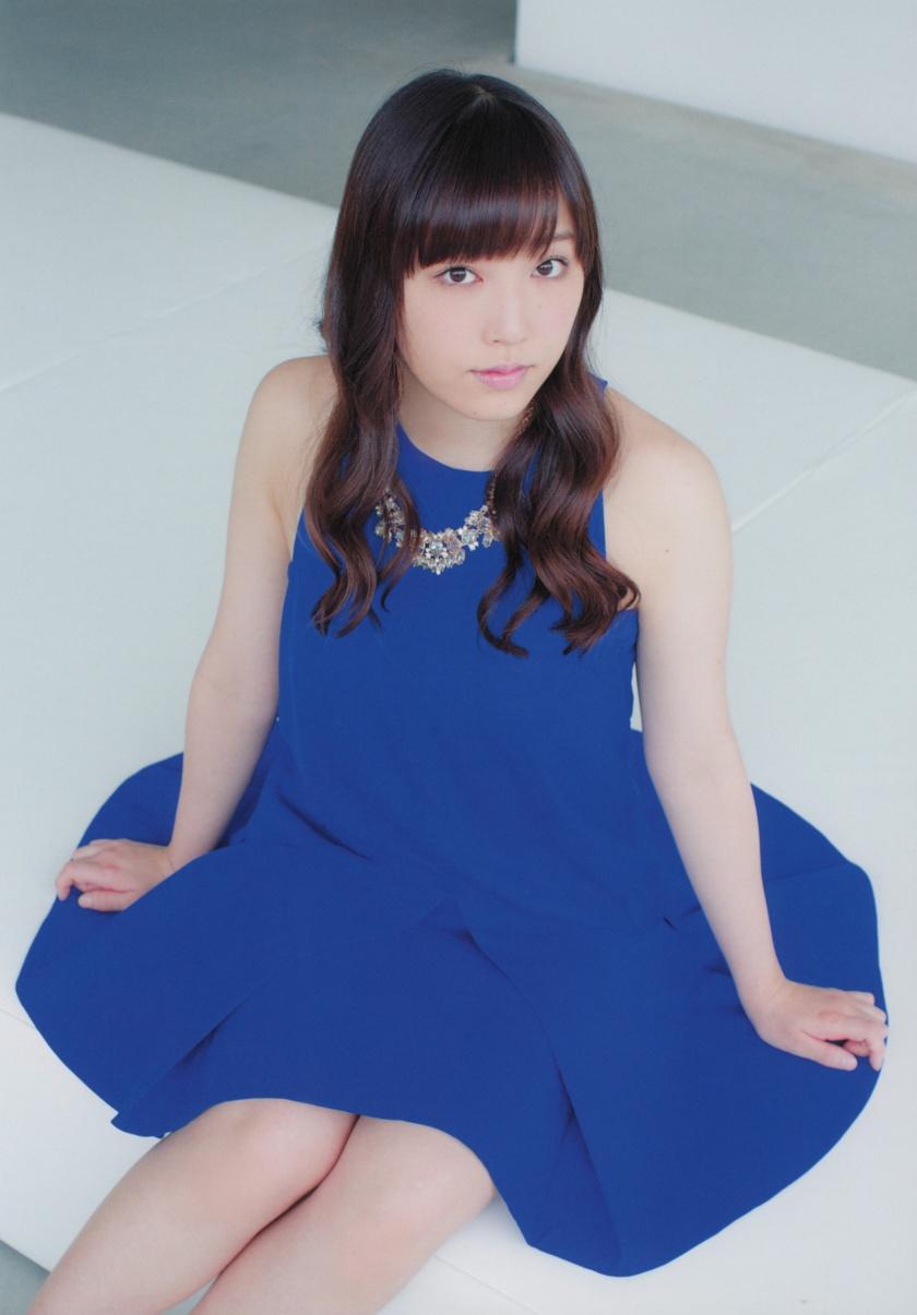 mizuki-fukumura-kagayaki blue dress hot pic