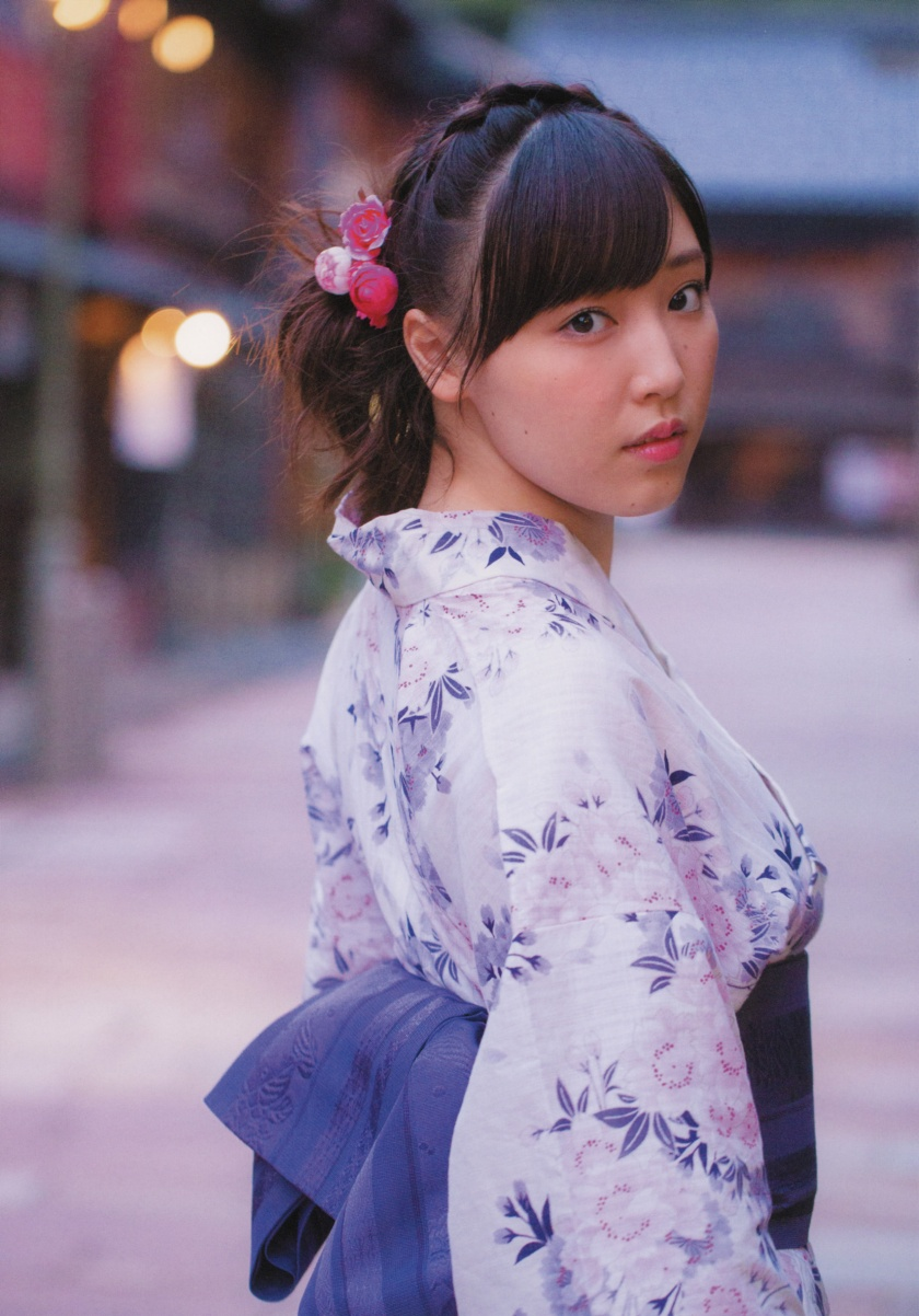 mizuki-fukumura-kagayaki photo book kimono
