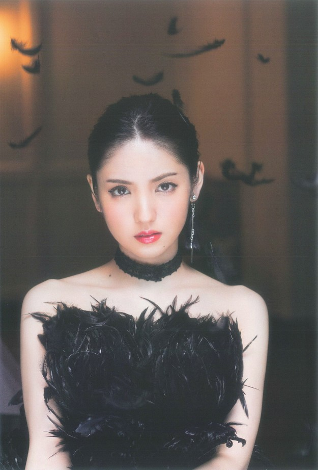 Sayumi Michishige Dream Photo book black dress